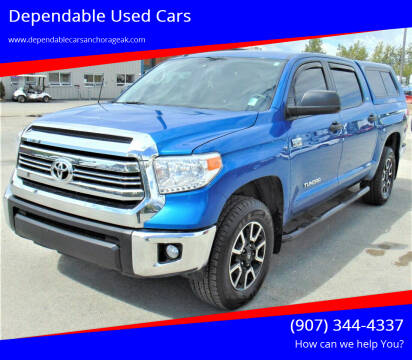 2017 Toyota Tundra for sale at Dependable Used Cars in Anchorage AK