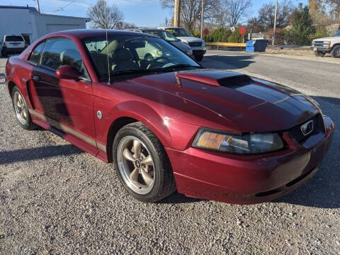 2004 Ford Mustang for sale at AUTO PROS SALES AND SERVICE in Belleville IL