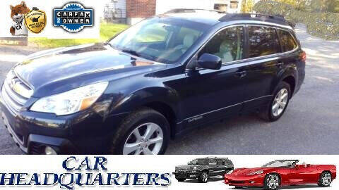 2013 Subaru Outback for sale at CAR  HEADQUARTERS in New Windsor NY