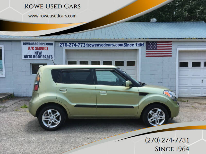 2010 Kia Soul for sale at Rowe Used Cars in Beaver Dam KY