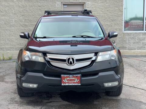 2009 Acura MDX for sale at Alpha Motors in Chicago IL