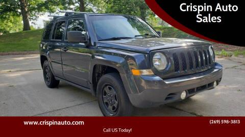 2014 Jeep Patriot for sale at Crispin Auto Sales in Urbana IL