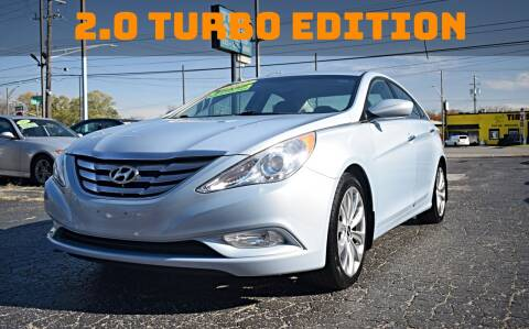 2012 Hyundai Sonata for sale at TIGER AUTO SALES INC in Redford MI