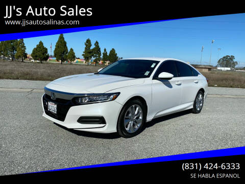 2018 Honda Accord for sale at JJ's Auto Sales in Salinas CA