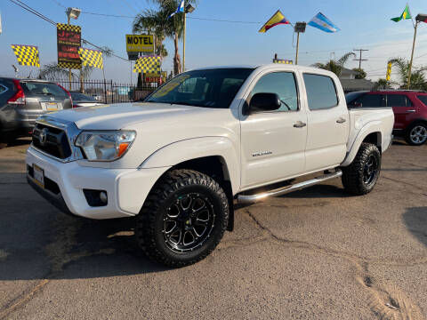 2014 Toyota Tacoma for sale at JR'S AUTO SALES in Pacoima CA