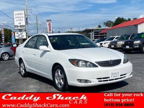 2002 Toyota Camry for sale at CADDY SHACK CARS in Edgewater MD
