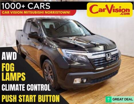 2019 Honda Ridgeline for sale at Car Vision Buying Center in Norristown PA