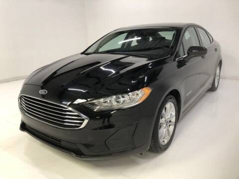 2019 Ford Fusion Hybrid for sale at Curry's Cars Powered by Autohouse - AUTO HOUSE PHOENIX in Peoria AZ