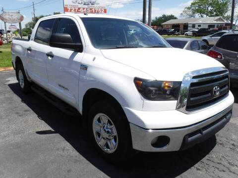 2010 Toyota Tundra for sale at LEGACY MOTORS INC in New Port Richey FL