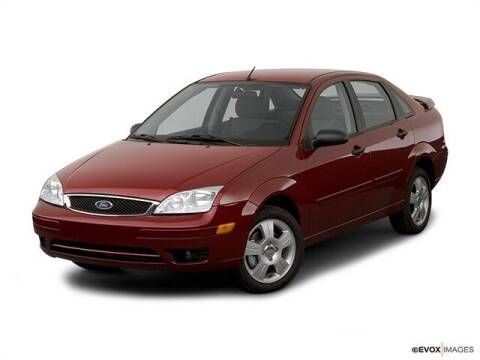 2007 Ford Focus for sale at Jamerson Auto Sales in Anderson IN
