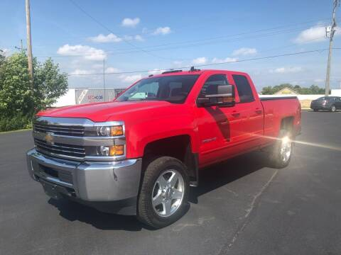 2015 Chevrolet Silverado 2500HD for sale at Zarate's Auto Sales in Caledonia WI