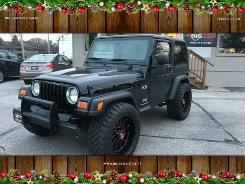2004 Jeep Wrangler for sale at Big Red Auto Sales in Papillion NE