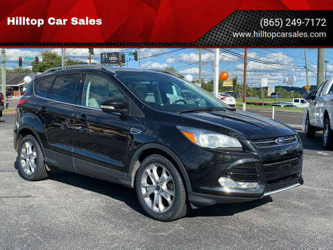2015 Ford Escape for sale at Hilltop Car Sales in Knox TN