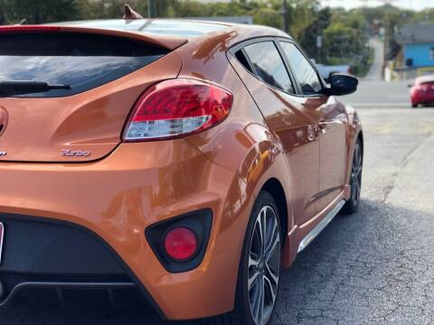 2016 Hyundai Veloster for sale at Crystal Auto Sales Inc in Nashville TN