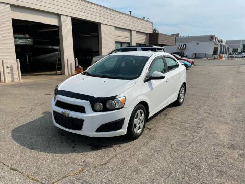 2015 Chevrolet Sonic for sale at Dean's Auto Sales in Flint MI