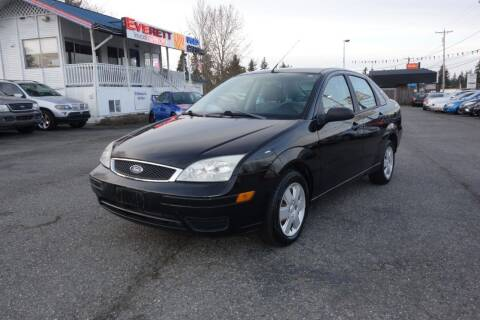 2006 Ford Focus for sale at Leavitt Auto Sales and Used Car City in Everett WA