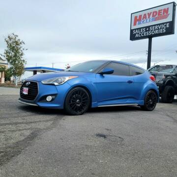 2016 Hyundai Veloster for sale at Hayden Cars in Coeur D Alene ID