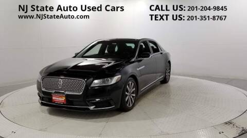 2017 Lincoln Continental for sale at NJ State Auto Auction in Jersey City NJ