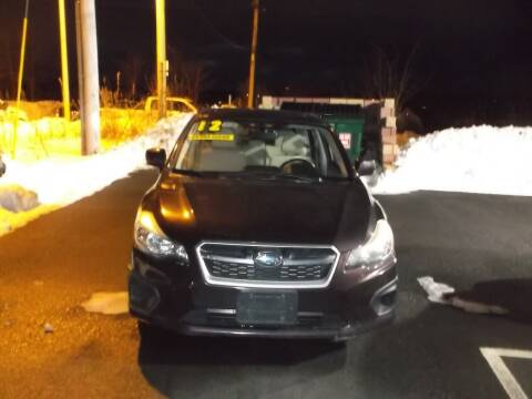 2012 Subaru Impreza for sale at sharp auto center in Worcester MA