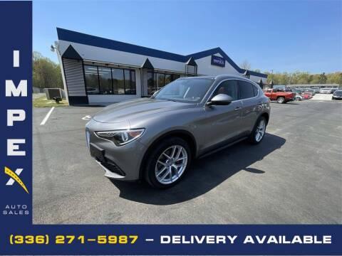 2019 Alfa Romeo Stelvio for sale at Impex Auto Sales in Greensboro NC