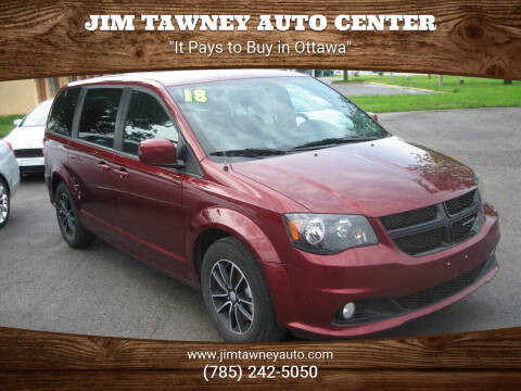 2018 Dodge Grand Caravan for sale at Jim Tawney Auto Center Inc in Ottawa KS