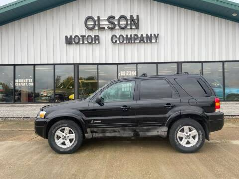 2006 Ford Escape Hybrid for sale at Olson Motor Company in Morris MN