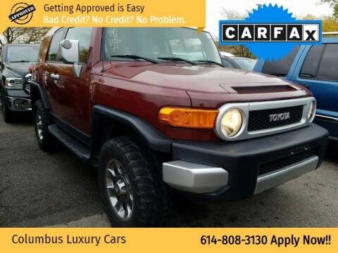 2010 Toyota FJ Cruiser for sale at Columbus Luxury Cars in Columbus OH