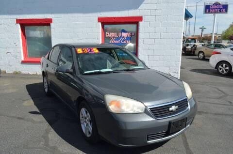 2008 Chevrolet Malibu Classic for sale at CARGILL U DRIVE USED CARS in Twin Falls ID