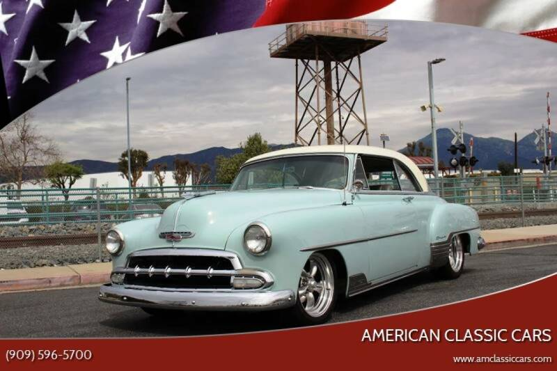 1952 Chevrolet Bel Air for sale at American Classic Cars in La Verne CA