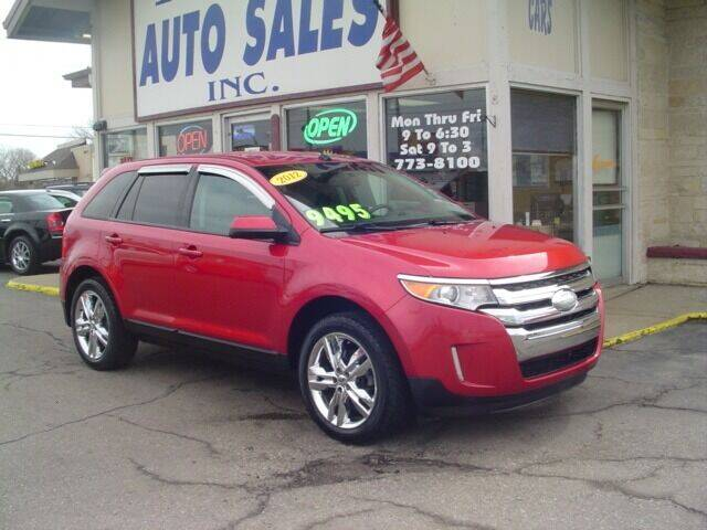 2012 Ford Edge for sale at G & L Auto Sales Inc in Roseville MI