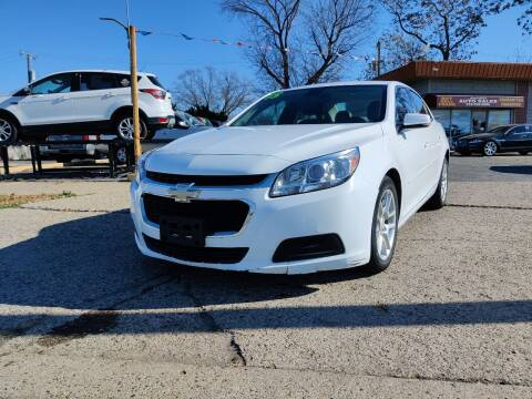 2015 Chevrolet Malibu for sale at Lamarina Auto Sales in Dearborn Heights MI