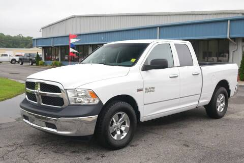 2017 RAM Ram Pickup 1500 for sale at STRICKLAND AUTO GROUP INC in Ahoskie NC