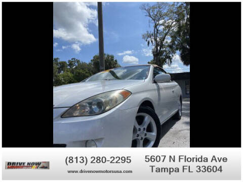 2006 Toyota Camry Solara for sale at Drive Now Motors USA in Tampa FL