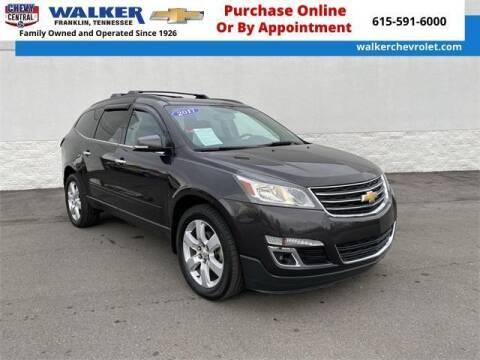 2017 Chevrolet Traverse for sale at WALKER CHEVROLET in Franklin TN