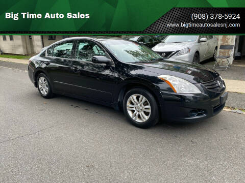 2010 Nissan Altima for sale at Big Time Auto Sales in Vauxhall NJ