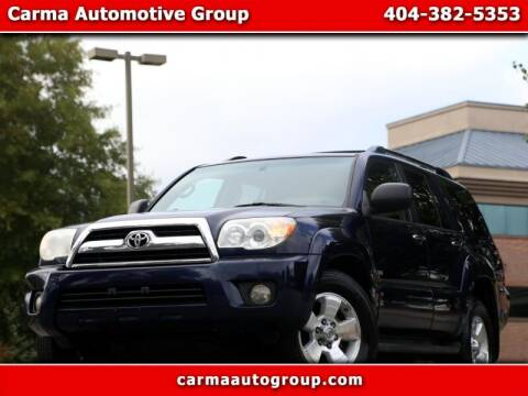 2008 Toyota 4Runner for sale at Carma Auto Group in Duluth GA