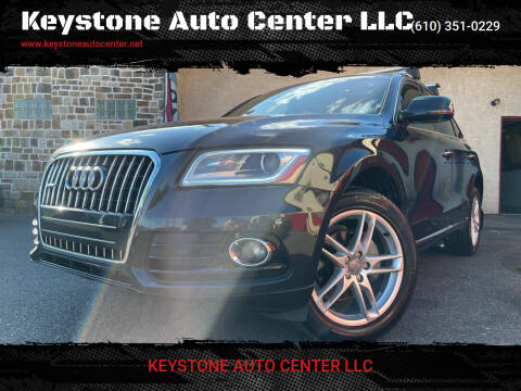 2016 Audi Q5 for sale at Keystone Auto Center LLC in Allentown PA