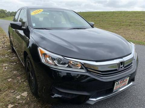 2016 Honda Accord for sale at Mr. Car City in Brentwood MD