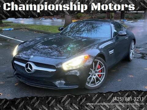 2016 Mercedes-Benz AMG GT for sale at Mudarri Motorsports - Championship Motors in Redmond WA
