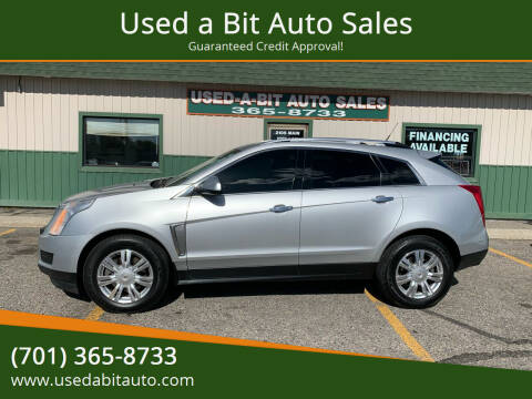 2013 Cadillac SRX for sale at Used a Bit Auto Sales in Fargo ND