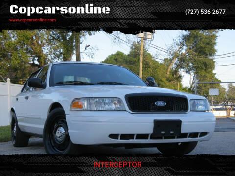 2010 Ford Crown Victoria for sale at Copcarsonline in Largo FL