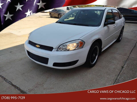2012 Chevrolet Impala for sale at Cargo Vans of Chicago LLC in Mokena IL