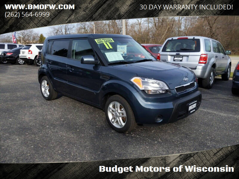 2011 Kia Soul for sale at Budget Motors of Wisconsin in Racine WI
