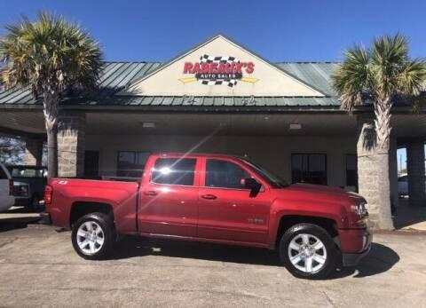 2018 Chevrolet Silverado 1500 for sale at Rabeaux's Auto Sales in Lafayette LA