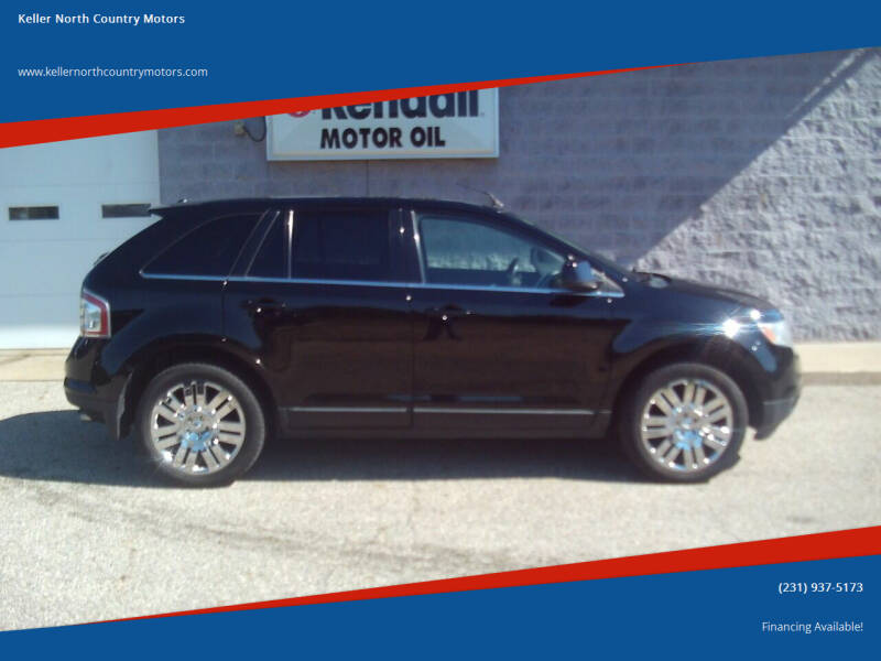 2008 Ford Edge for sale at Keller North Country Motors in Howard City MI