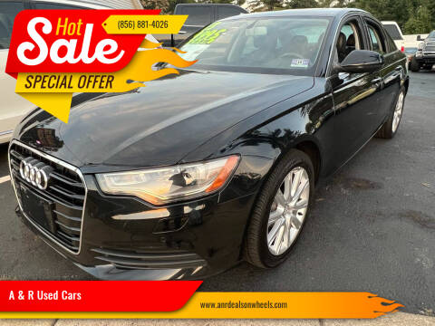 2013 Audi A6 for sale at A & R Used Cars in Clayton NJ