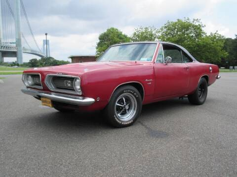 1968 Plymouth Barracuda for sale at Island Classics & Customs in Staten Island NY