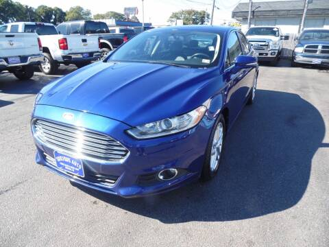 2013 Ford Fusion for sale at Surfside Auto Company in Norfolk VA