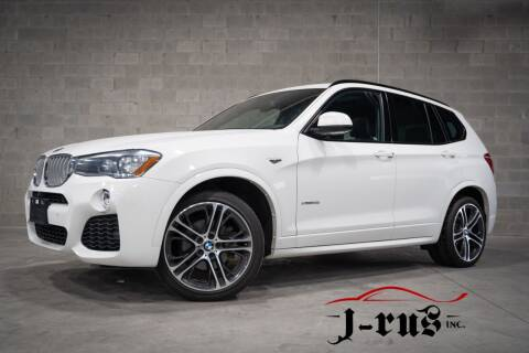 2017 BMW X3 for sale at J-Rus Inc. in Macomb MI