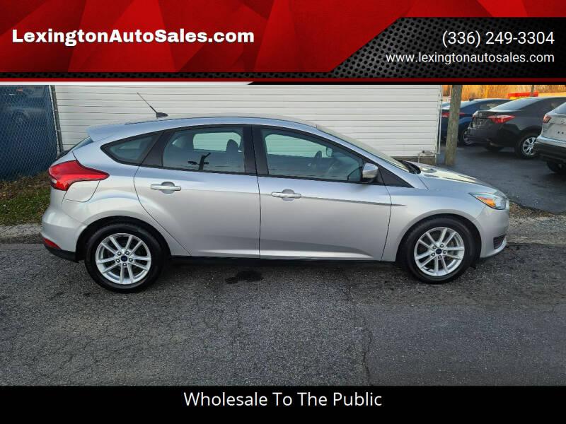 2015 Ford Focus for sale at LexingtonAutoSales.com in Lexington NC
